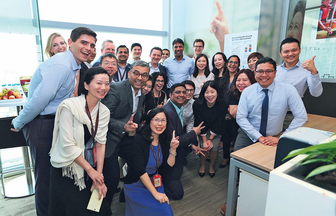 Sandoz, the company's generics and biosimilar medicines division, promotes access to high quality, affordable medicines for patients. PHOTO: NOVARTIS SINGPORE